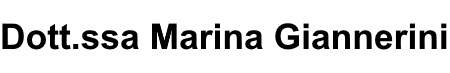 Marina Giannerini – Psicologa Psicoterapeuta